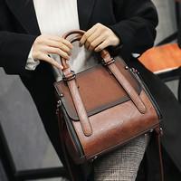 Tas wanita import kerja handbags korea zara fossil original 087 COKLAT