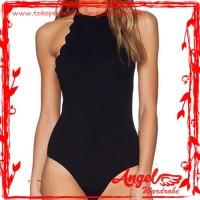 Baju Renang One Piece Swimsuit| Monokini Premium | Halter Top