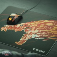 SteelSeries QcK+ Limited CSGO Howl Edition - Gaming Mousepad