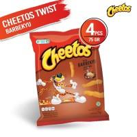 Cheetos Twist Barbekyu 75 Gr - 4 Pcs