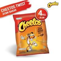 Cheetos Twist Ayam Bakar 75 Gr - 4 Pcs