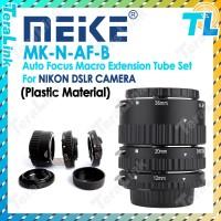 Meike MK-N-AF-B Macro Extension Tube for Nikon DSLR Camera