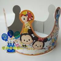 Topi Ulang Tahun Tsum Tsum/ Mahkota Ulang Tahun/ Topi Pesta/Pesta Anak