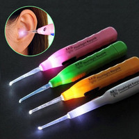 Ear pick earpick flashlight pembersih telinga LED senter nyala AHM024