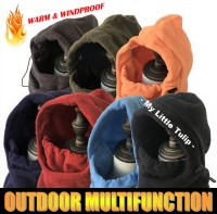 Topi Syal Masker Wajah Winter Musim Dingin Hiking Naik Gunung Thermal