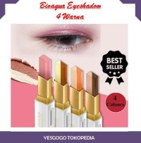 Bioaqua Eyeshadow Stereo Double Two Tone Color