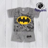 Setelan Anak 2-3 thn Superhero Batman Kaos Anak Laki-Laki Murah
