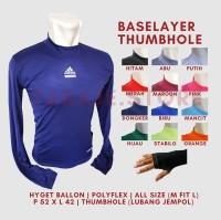 Baselayer Thumbhole Adidas - Navy