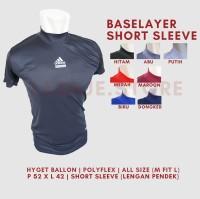 Baselayer Short Adidas - Hitam