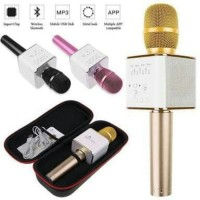 Mic Q9 Wireless Bluetooth Karaoke Player Microphone Speaker KTV USB