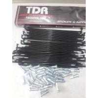 Ruji velg TDR black series
