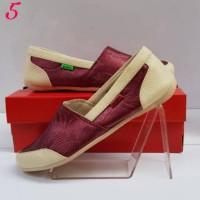 PROMO Sepatu kickers cewek motif batik elegan