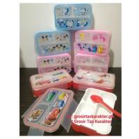 Kotak Makan Anak Karakter Tempat Makan Bento MINI Lunch Box Bekal