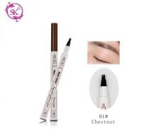 Chestnut 01 - Fine Sketch Liquid Eyebrow Music Flower Pen Waterproof