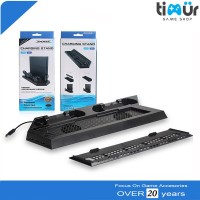 Kipas Vertical Cooling Fan PS4 Charging Stand Dock Fat Slim Dan Pro