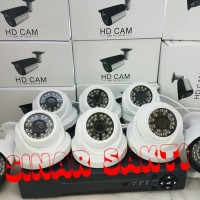 PAKET CCTV 8 CAMERA 3MP + HDD 1TB ( KOMPLIT TINGGAL PASANG )