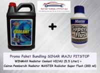 Paket Bundling Winmax Radiator Coolant Hijau 5.5 Liter & Master Radi