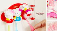 3 in 1 Toothbrush Holder HELLO KITTY, dilengkapi jam pa Berkualitas