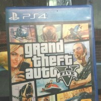 Blue Ray Game PS4 Grand Theft Auto 5