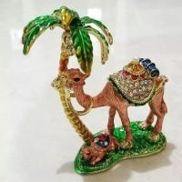 Souvenir kado ultah miniatur unta jewelry mesir arab saudi haji umroh