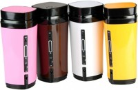 1450 USB Rechargeable Heated Warmer Coffee Mug Cup with Automatic