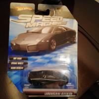 Hot Wheels Speed Machines Lamborghini Reventon Hitam/Black, (Langka)