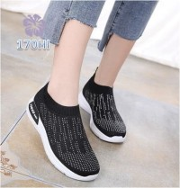 Sepatu Wanita Slipon Sock Rain - 170