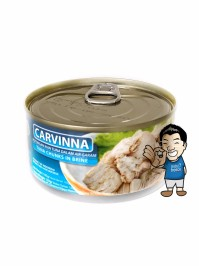 Carvinna Daging Ikan Tuna Kaleng- Tuna Chunks In Canned 185g