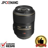 Nikon AF-S VR Micro-NIKKOR 105mm f/2.8G IF-ED GARANSI RESMI