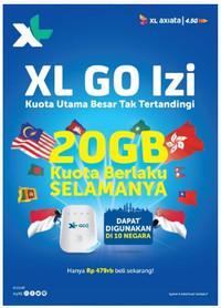 Modem Wifi Mifi 4G XL Go Movimax MV003 Free 60Gb 60Hari