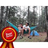 Hammock Camping Single layer / Ayunan Gantung Best Quality