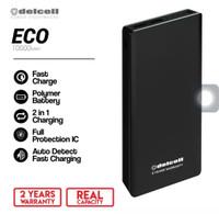 Delcell Powerbank Eco 10000 mAh Real Capacity - Garansi Resmi 2 Tahun