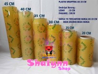 PLASTIK MAKANAN WRAPPING BUAH BEST FRESH FOOD GRADE UKURAN 20 CM X 500