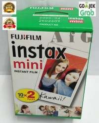 Fujifilm Refill Instax Mini Twinpack Plain