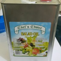 Salad Oil Chef's & Choice (Minyak Kedelai)