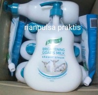 Klinsen Brightening goat's milk sabun kecantikan susu kambing pemutih