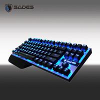 Sades Gaming Keyboard KB-87 Blue KARAMBIT