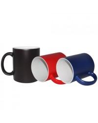 Kado Unik Mug Bunglon bisa berubah warna // bisa custom foto & tulisan
