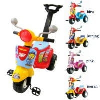 SEPEDA ANAK RABBIT TRICYCLE SHP SCOOTER 609