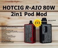 HOTCIG R-AIO 80W 2in1 Pod Mod Vape Authentic