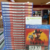 BD PS4 RED DEAD REDEMPTION 2 REGION 3 ENGLISH