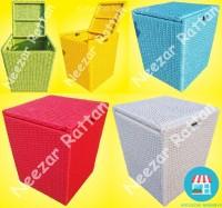 Keranjang Box BAJU Bayi Kotor Bersih Laundry dari Rotan