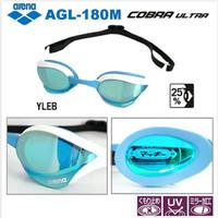 Kacamata Renang ARENA COBRA ULTRA AGL-180M (White/Lt.Blue)