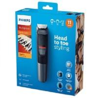 PHILIPS Multigroom Series 5000 11-in-1 MG5730/15 Beard Trimmer Cukuran