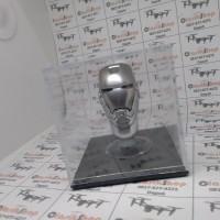 1/6 Scale Head Kepala helm helmet IRON MAN mark box display