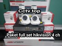 PROMO DI BULAN INI PAKET CCTV 8 CHANNEL HIKVISION 2 MP/FULL HD 1080P