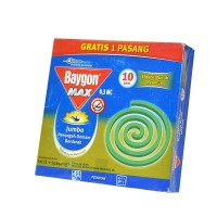 BAYGON MAX ANTI NYAMUK BAKAR JUMBO (001579)