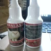 HERBALAX OIL 30ml-obat mengatasi hair ball & sembelit