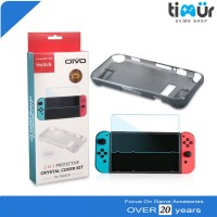 Crystal Cover Kit Case Protective Nintendo Switch 2 in 1 Anti Gores