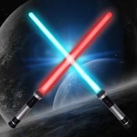 Pedang Lightsaber Star Wars Double Bladed Bisa Disambung